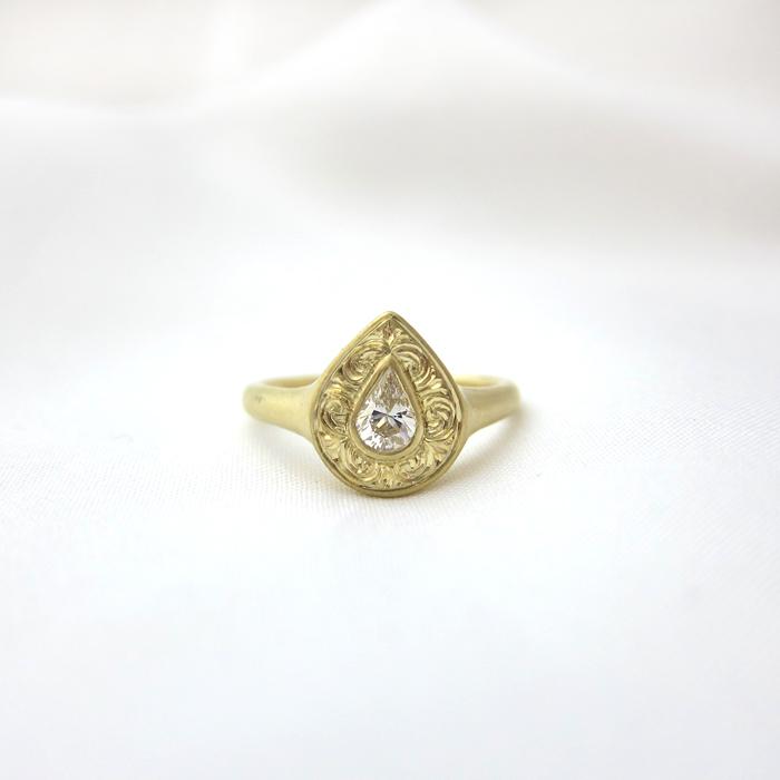 ダイヤモンド,リング,指輪,ロゼット,