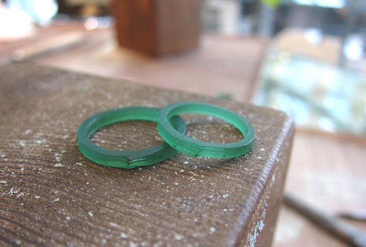 手作り指輪原型