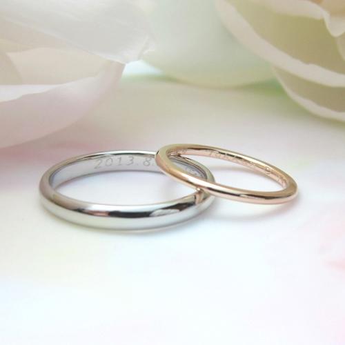 ラウンド,結婚指輪,マリッジリング,